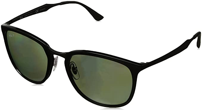 Ray-Ban 601/9A Gafas de sol, Black, 56 Unisex: Amazon.es ...