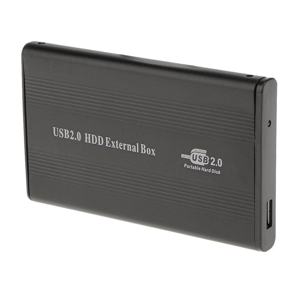 Carcasa Externa para Disco Duro USB2.0 IDE Externo 2,5