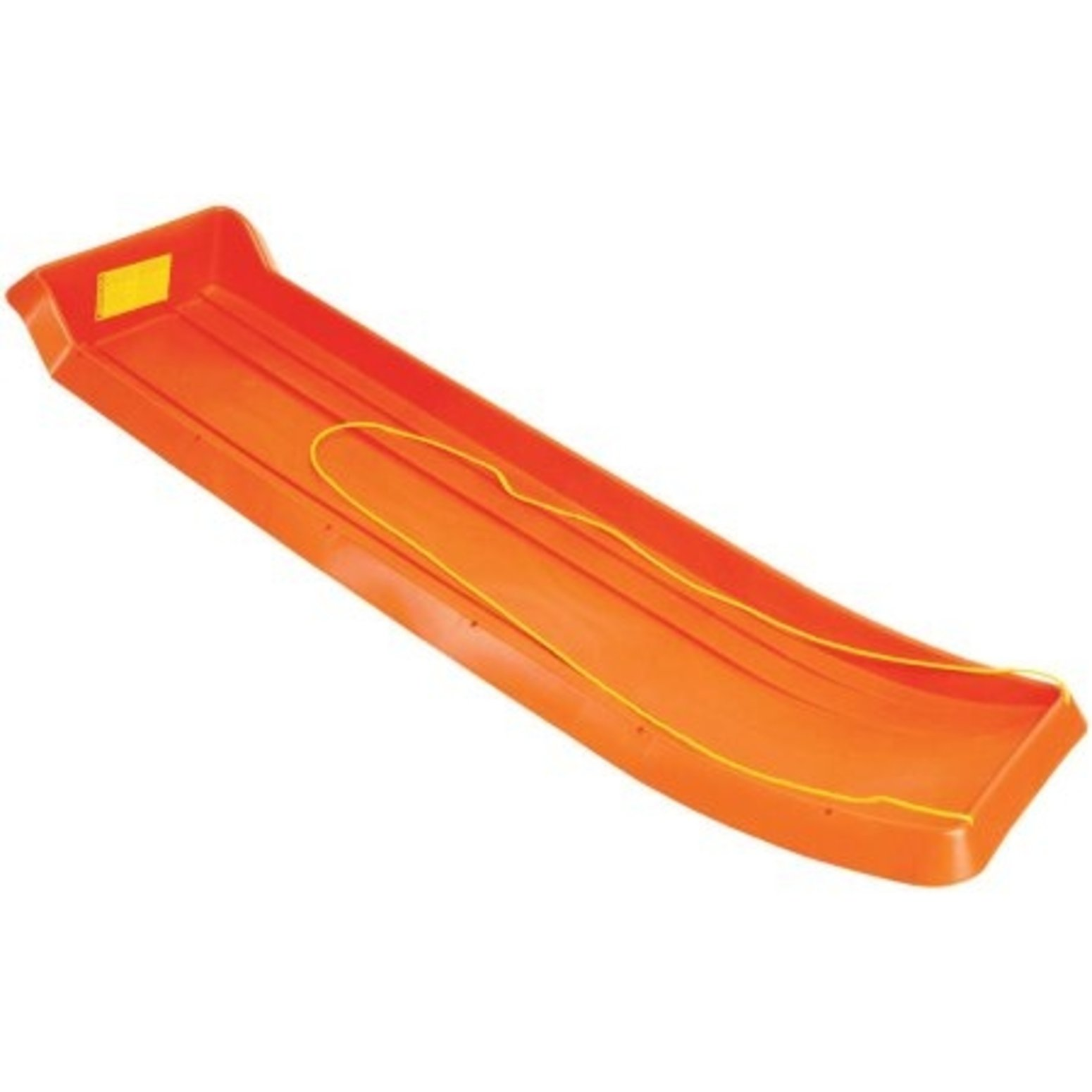 Emsco Group 2916 66'' Family Fun Toboggan Sled with Towrope, Orange