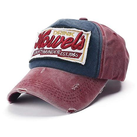 Longra💞 Gorras de béisbol Unisex Unisex de algodón al Aire Libre ...