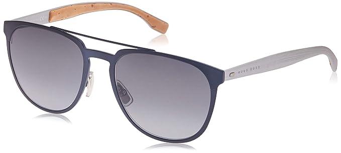 Hugo Boss 0882/S HD Gafas de sol, Azul (Mtbluee Mtpld/Grey ...
