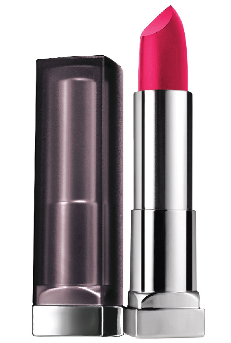 Maybelline Color Sensational Creamy Matte Lipstick, All Fired Up, 0.15 oz.