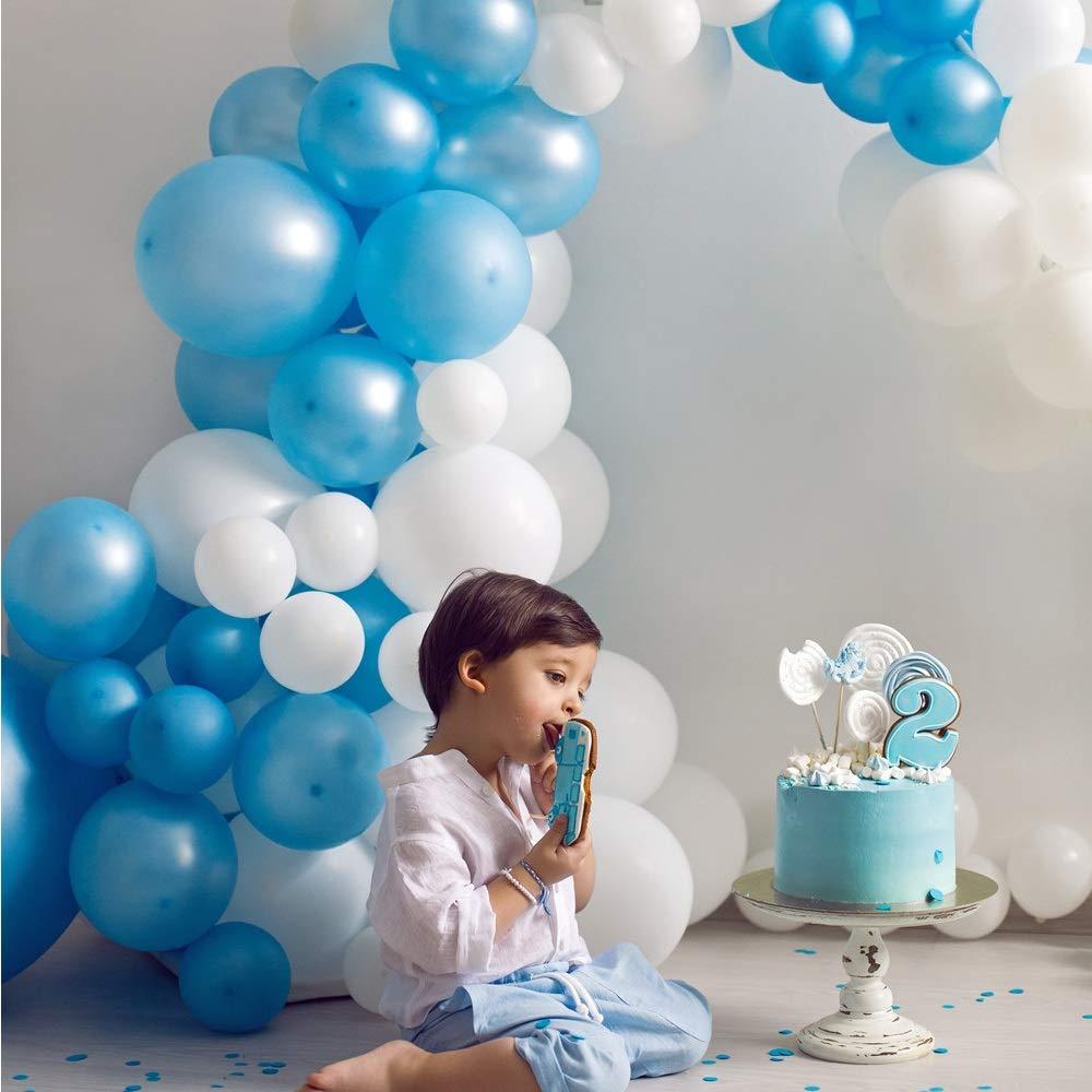 Ghirlande DAYPICKER Decorazione Festa di Compleanno Ragazzi Palloncini Happy Birthday Palloncini in Lattice con coriandoli Palloncino in Foil a Cuore Palloncino a Stella