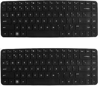 2 PCS de 14 pulgadas de silicona HP PC del teclado teclado ...