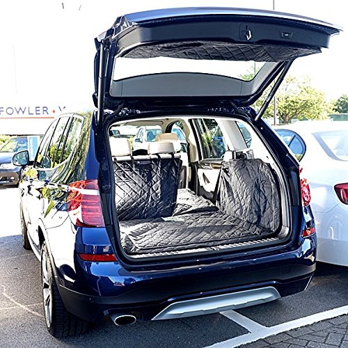 BMW X3 Cargo Liner Trunk Mat - Quilted, Waterproof & Tailored - 2010 to 2017 Generation 2 (F25)