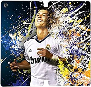 Elegant Printing Cool Cristiano Ronaldo Images Wallpapers-14 Pc Liner, Flip Leather Case For iPad Mini 1,Mini 2,Mini 3
