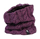 Heat Holders - Women's Thermal Winter Neck Warmer Gaitor - 3.5 Tog - One Size (Purple)