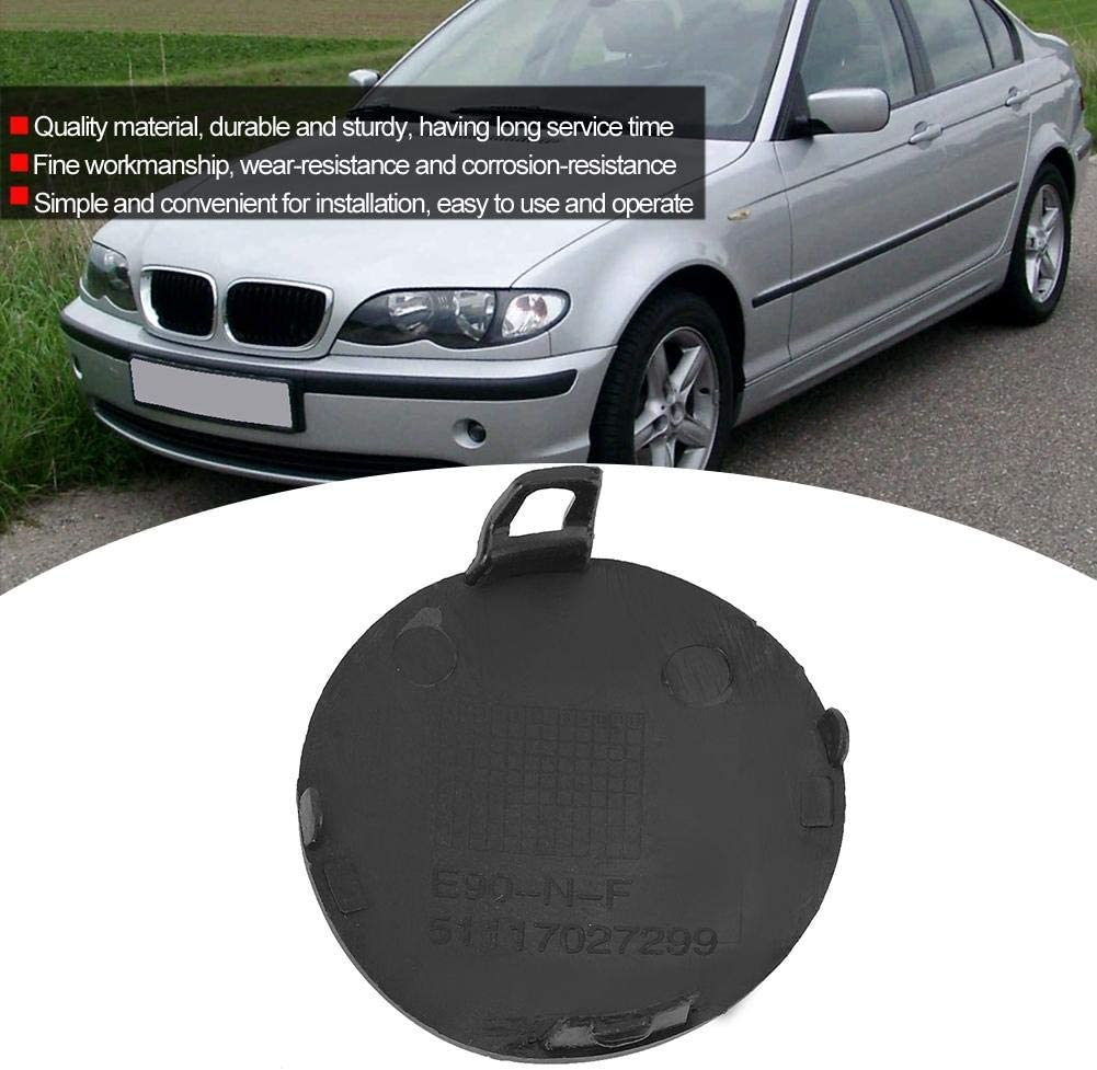 for Front Bumper E90 E91 Convenient Durable Corrosion-resistance Tow Cover Simple Tow Hook