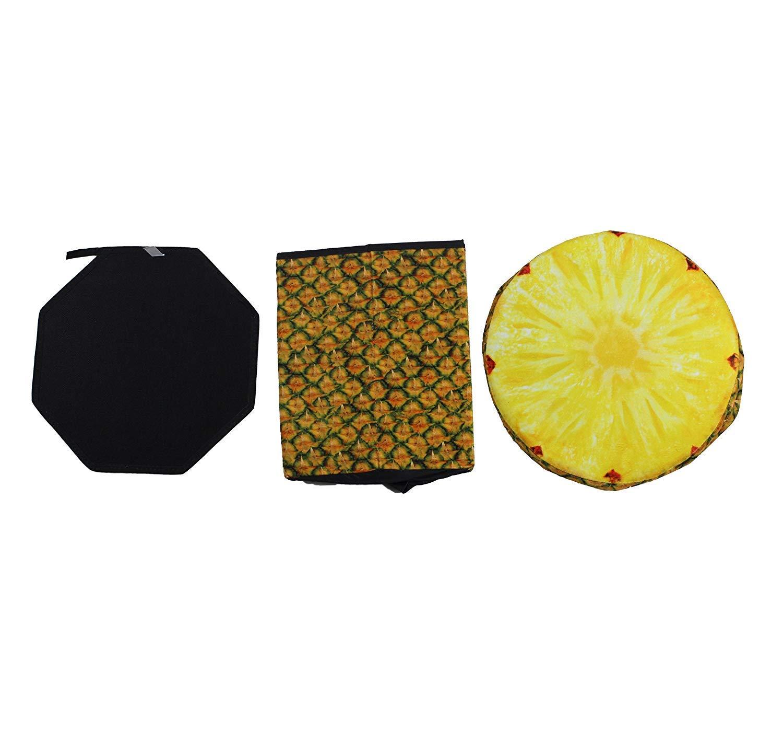 Kailya Conservazione panchine Pieghevole 3D Frutta Conservazione Sgabello ottomano poggiapiedi Conservazione Scatola Massimo caricare capacit/à 150 kg Kiwi