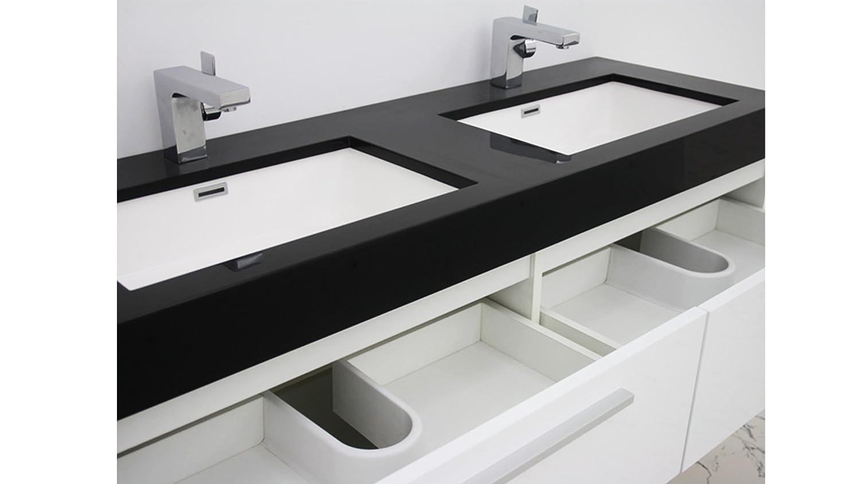 Salle De Bain Azzura ~ mobiliermoss 13432411900 azzura meuble de salle de bain double