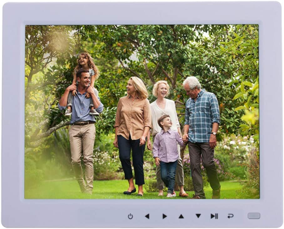 with Remote Control Motion Sensor YWT 10-Inch Digital Photo Frame USB and SD Card Slot Photo Auto-Rotation 1024x768 Resolution IPS Display