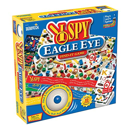 I SPY Eagle Eye Find-It Game (Ispy Game Board)