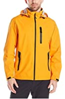 Hawke & Co Mens Seam Sealed Waterproof Hooded Rain Jacket