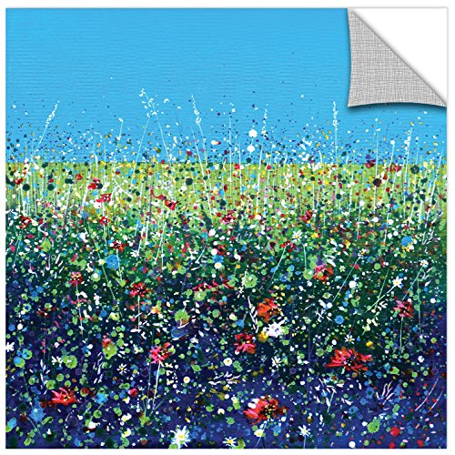 Tremont Hill Stuart Roy ''Flowers I'' Gallery Wrapped Canvas, 18X18