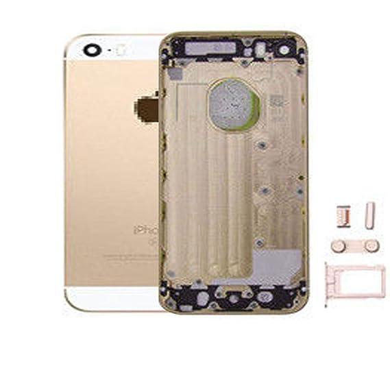 Amazon.com: Caja de la batería puerta para iPhone 5/5G Con ...