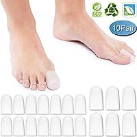 DUOUPA 20 piezas Protectores de dedos del pie