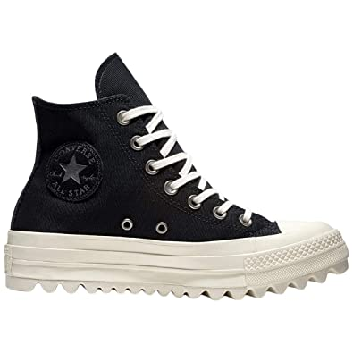 ef6dc4c9981b Converse Women s Chuck Taylor CTAS Lift Ripple Hi Low-Top Sneakers ...