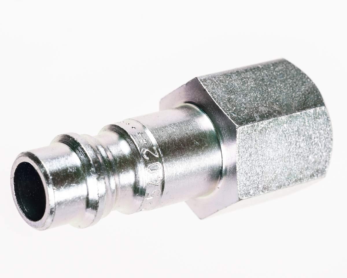 MSA 1/4'' NPT Chrome-Plated Male Plug