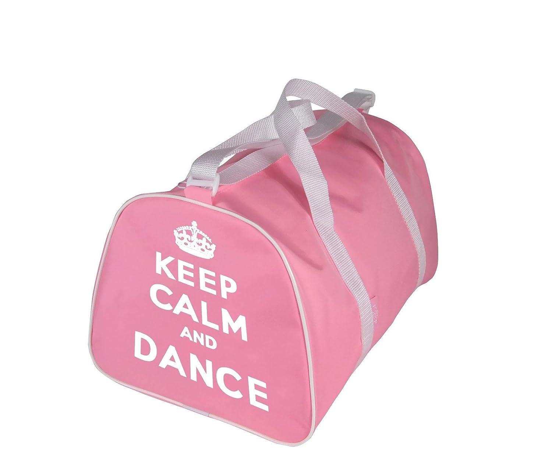 KEEP CALM AND TANZ Sporttasche für tänzer in rosa, Rot, Schwarz oder Blau Tappers & Pointers
