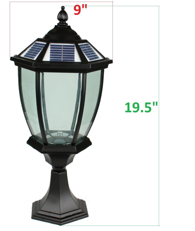 Amazon large outdoor solar powered led light lamp sl 8501 amazon large outdoor solar powered led light lamp sl 8501 landscape lighting garden outdoor aloadofball Images