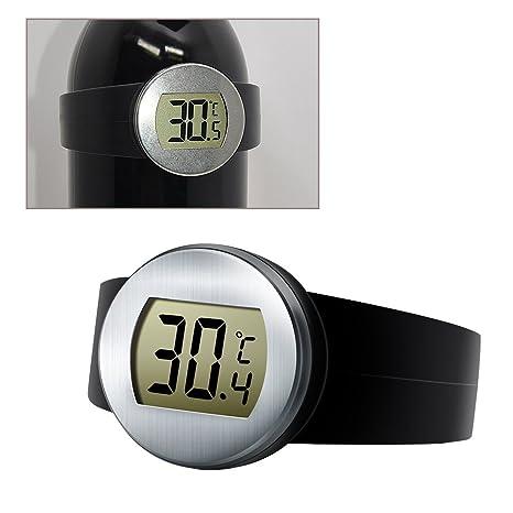 YongYI - Termómetro Digital de Vino, termómetro de Lectura instantánea con Pantalla LCD Grande,
