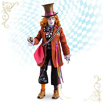 06d26a456 Mad Hatter Disney Film Collection Doll - Alice Through the Looking Glass -  13 1/2''