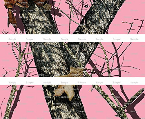 Pink Woodland Camo - Cake Side Designer Strip - Edible Cake/Cupcake Party Topper!!!