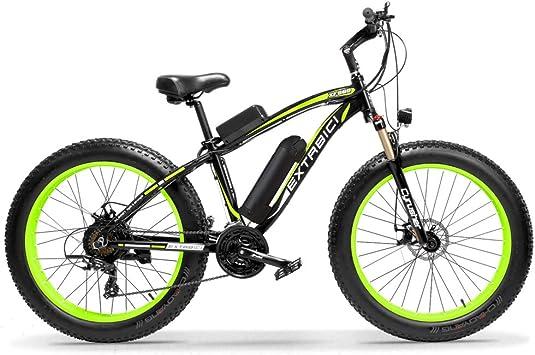 Extrbici XF660 500 W 48 V 10.4 Ah Bicicleta Eléctrica 26 X4.0 ...