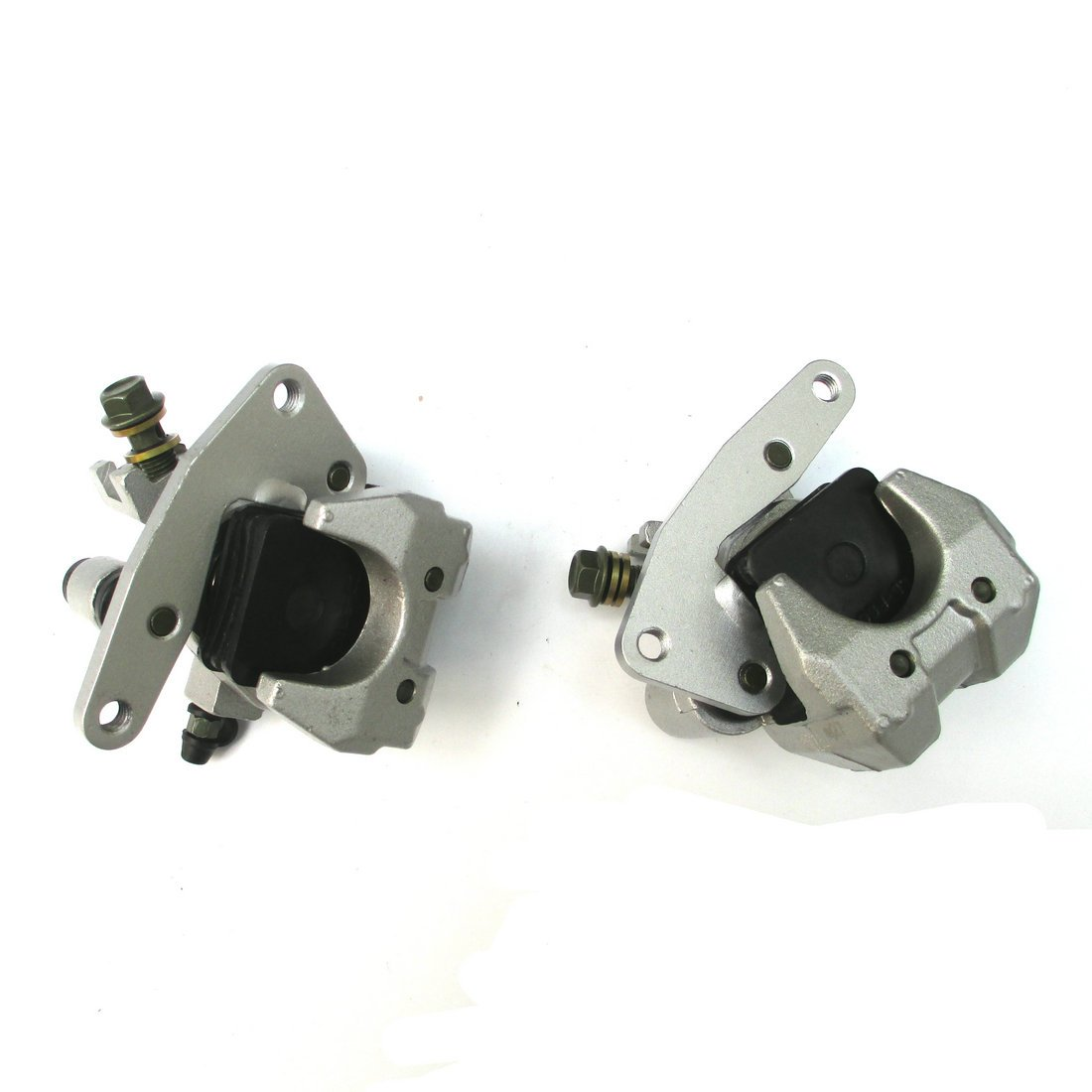 New Front Brake Caliper Set for YAMAHA RAPTOR KODIAK WOLVERINE YFM350 400 45 660 NEW by WADS1000292 (Image #2)