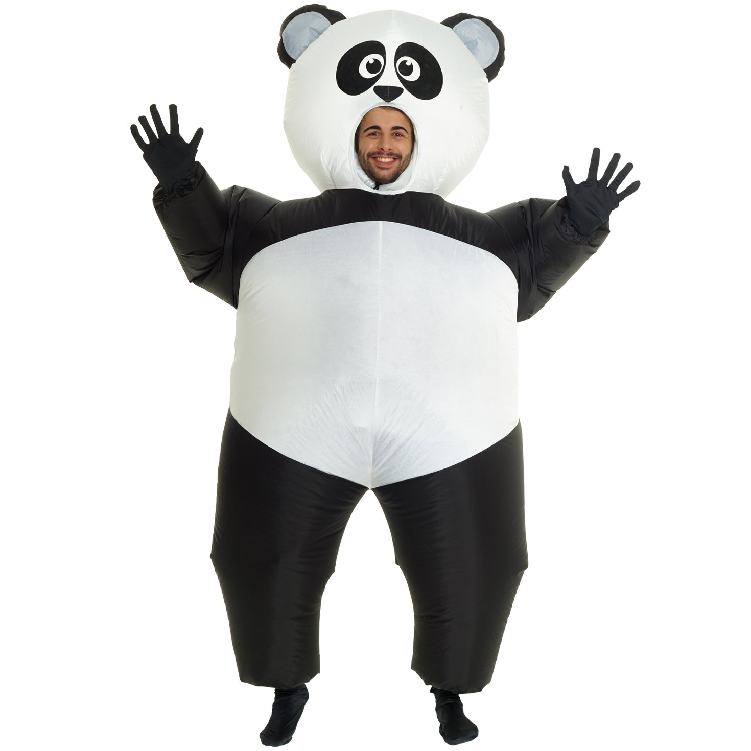 Morph Giant Panda Inflatable Blow up Costume Costume - One Size fits Most