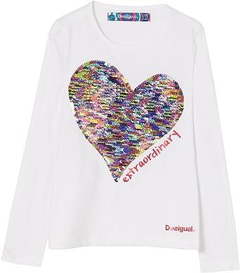Desigual TS_Vancouver Camisa Manga Larga para Niñas: Amazon.es: Ropa y accesorios