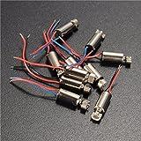 10pcs 4x8mm DC1.5-3V Micro Coreless Motor Vibration Motor