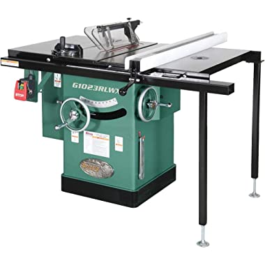 Grizzly G1023RLWX Cabinet Left-Tilting Table Saw