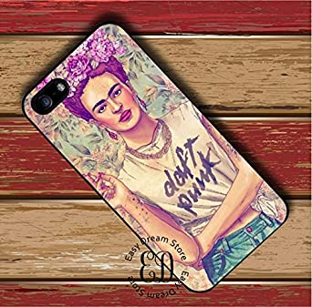 Best Quality - Half-Wrapped Case - Frida Kahlo Pies para Punk case for HTC