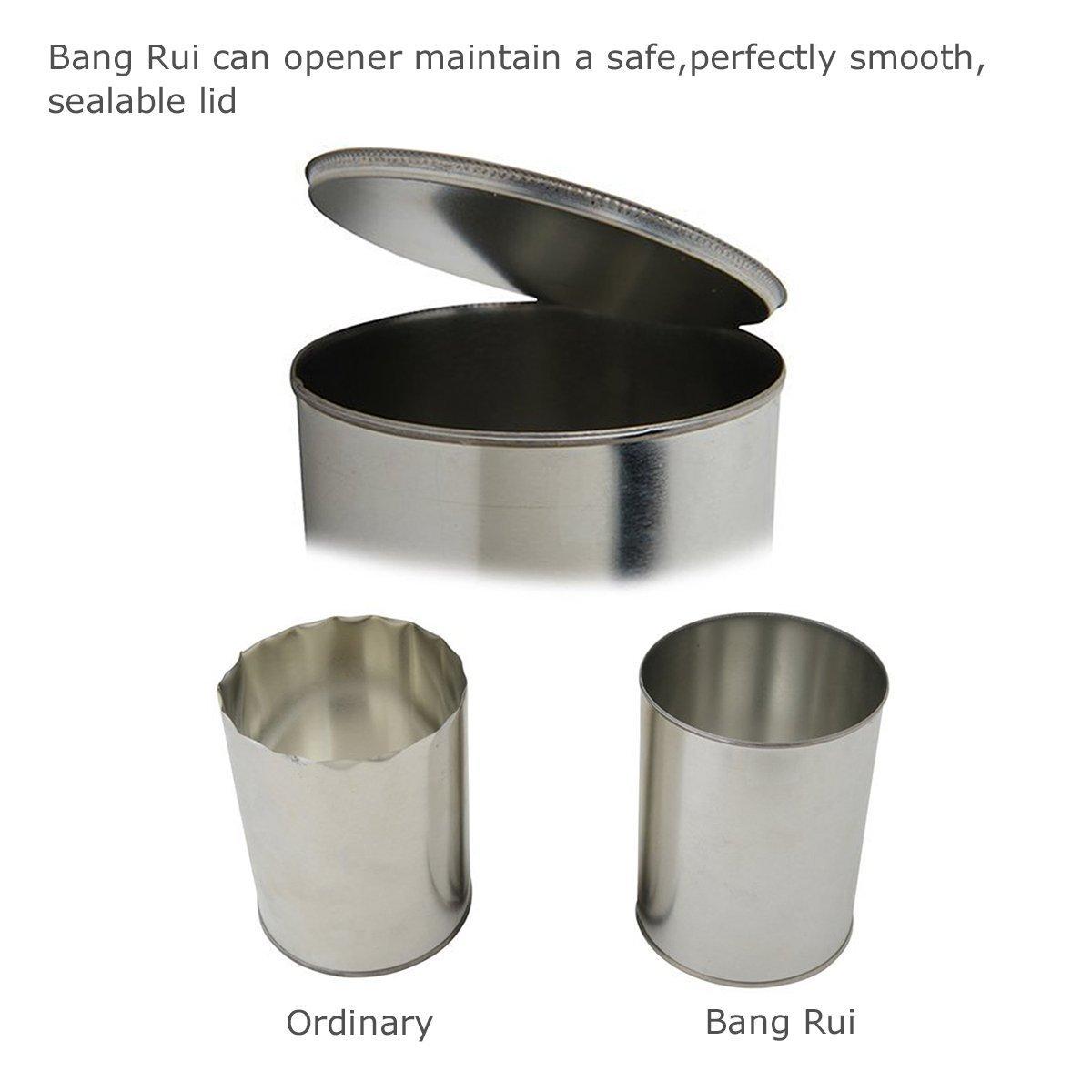 Interruttore one-touch la scelta migliore per chef. Apriscatole BangRui elettrico Apriscatole per cucina del ristorante Bordo pulito e liscio Verde