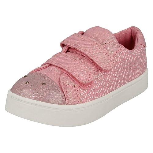 292358f5e870 Clarks 3171-46F Pattie LOLA Pink Kids Trainers  Amazon.co.uk  Shoes ...