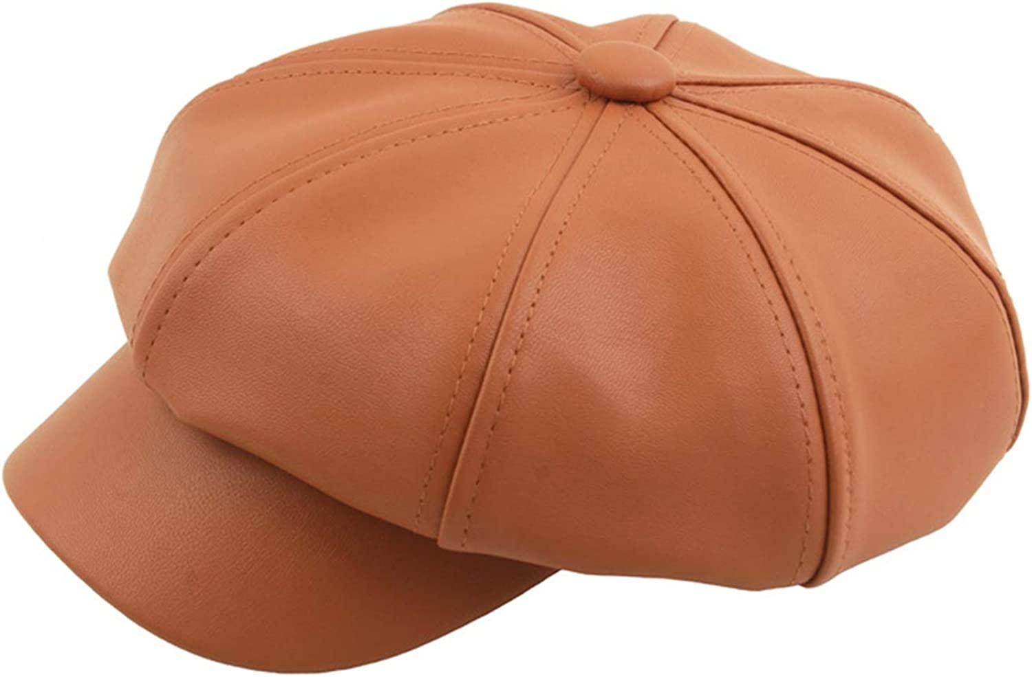 PU Leather Octagonal Hat...