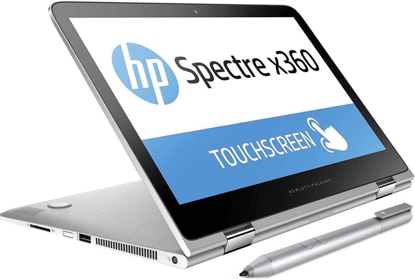 "2019 HP Spectre x360 13.3"" FHD Touchscreen 2-in-1 Laptop Computer: 8th Gen Intel Quad-Core i7-8550U Up to 4.0GHz/ 8GB RAM/ 256GB PCIe SSD/ 802.11AC WiFi/ Fingerprint Reader/ Active Pen/ Windows 10"