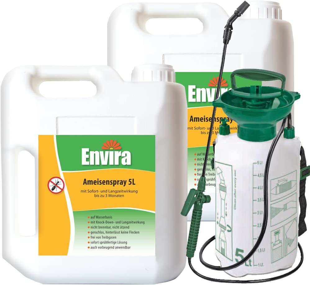 Envira Anti-Ameisenspray 19x19Ltr + 19Ltr Sprüher