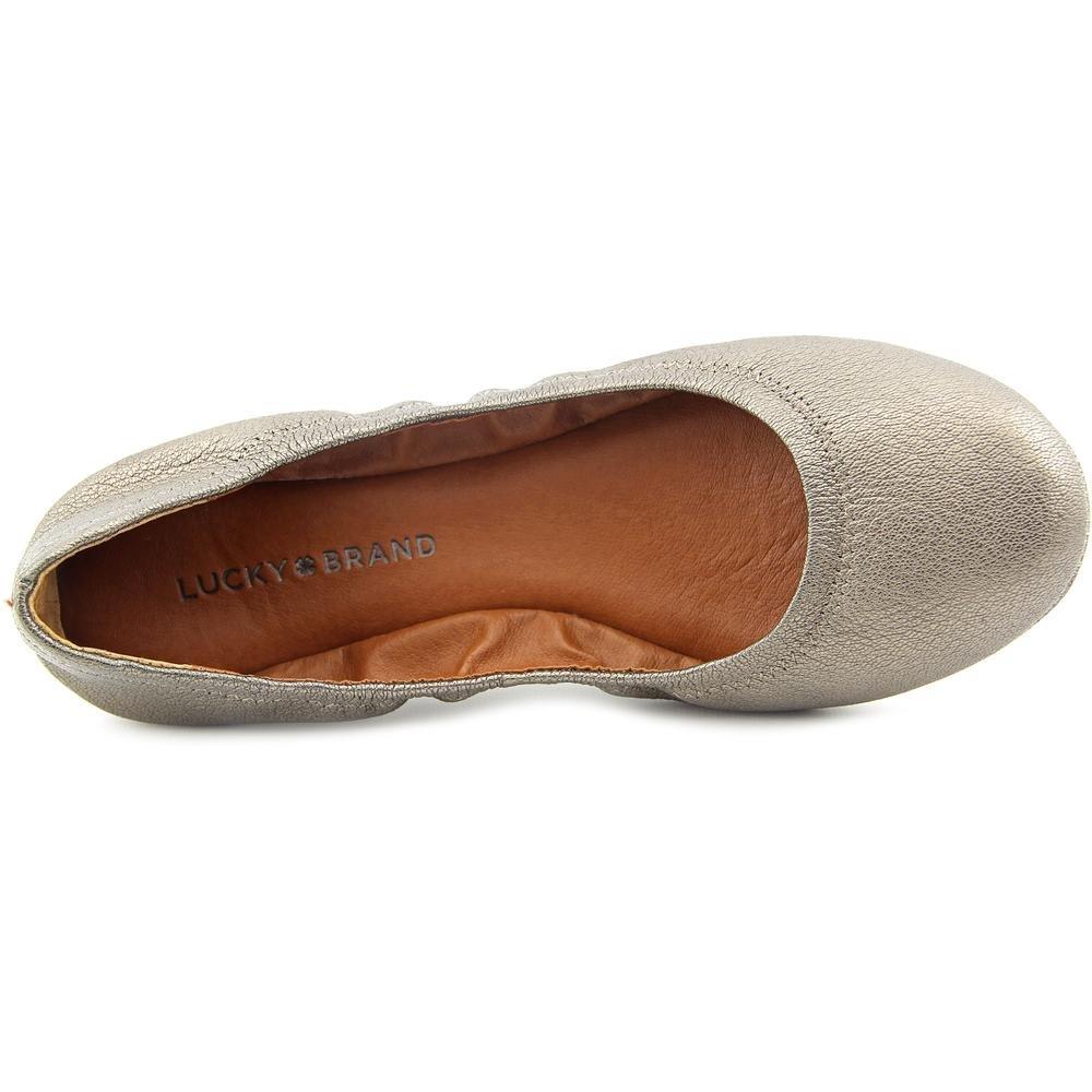 Lucky Brand Damen Emmie Lucky Ballet Emmie Flat Brand Zinn-Leder ...
