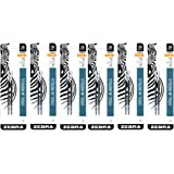 Zebra JK-Refll G301 Retractable Ballpoint Pen Refills, 0.7mm, Medium Point, Black Ink, Pack of 12