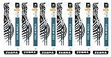Zebra G-301 JK-Refill 0.7mm, Black, 2 Refills