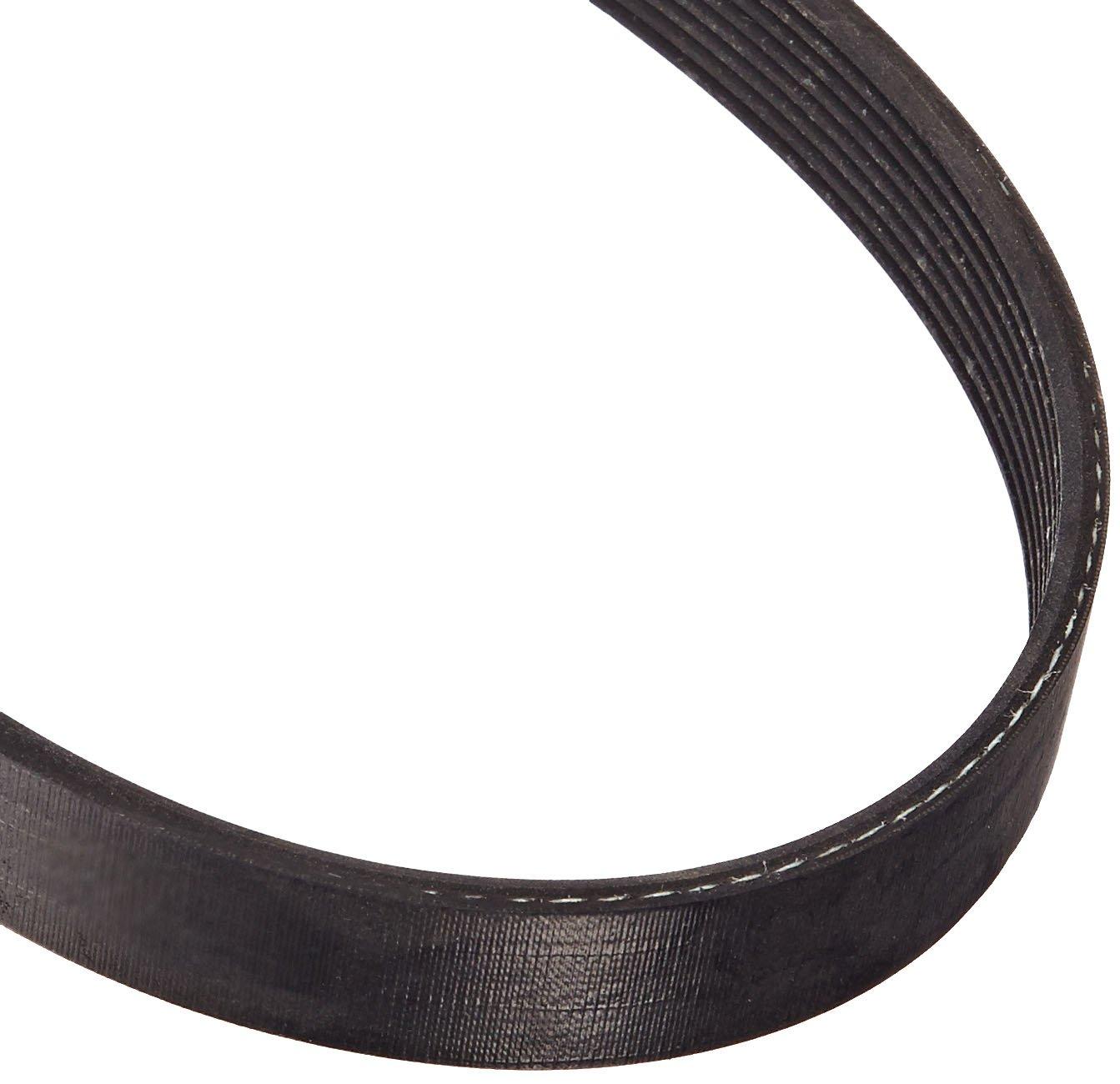 Gates 190J8 Micro-V Belt, J Section, 190J Size, 19' Length, 3/4' Width, 8 Rib 19 Length 3/4 Width 917101908