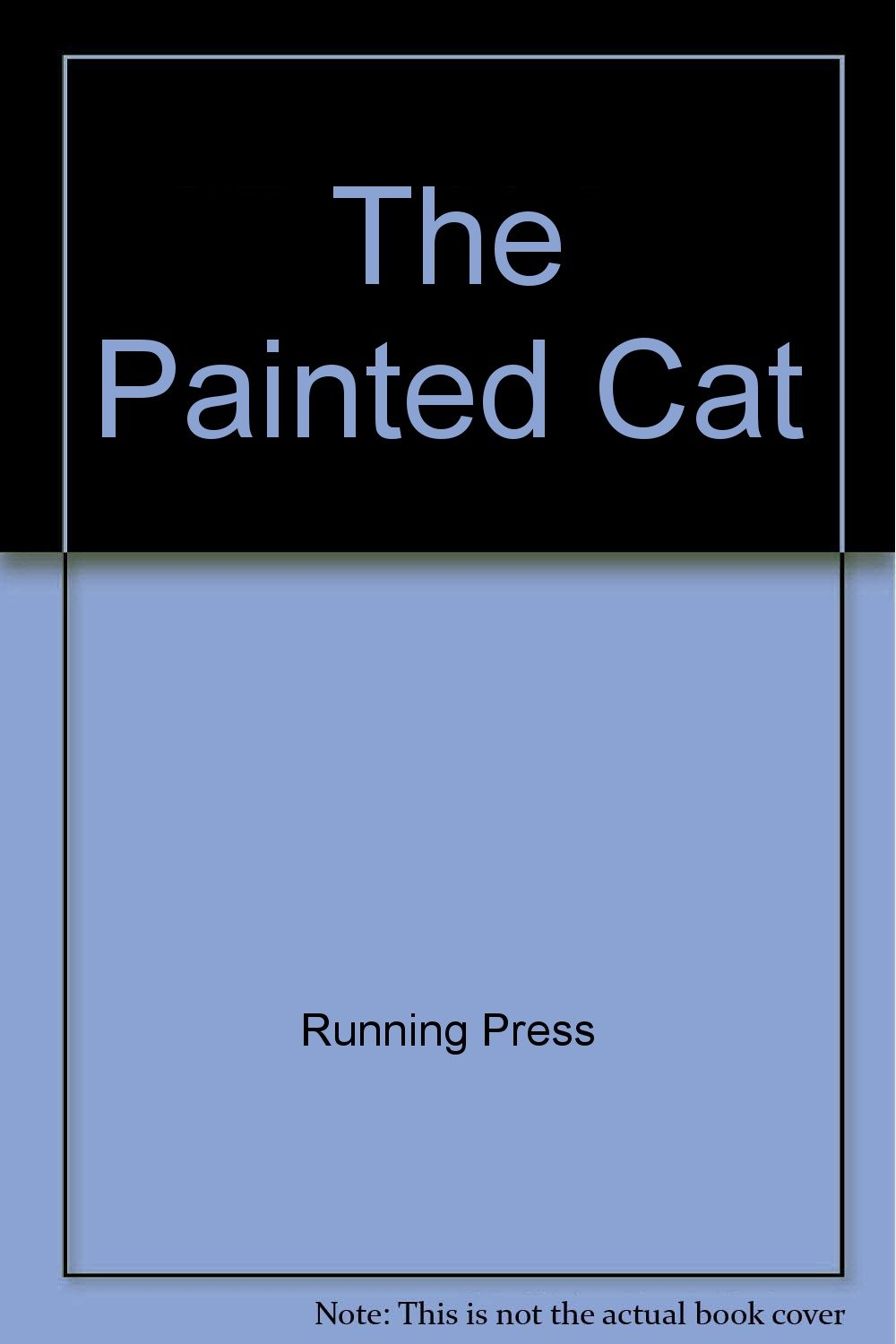 the painted cat a postcard book