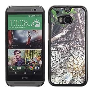 "For HTC One ( M8 ) , S-type Planta Naturaleza Forrest Flor 88"" - Arte & diseño plástico duro Fundas Cover Cubre Hard Case Cover"