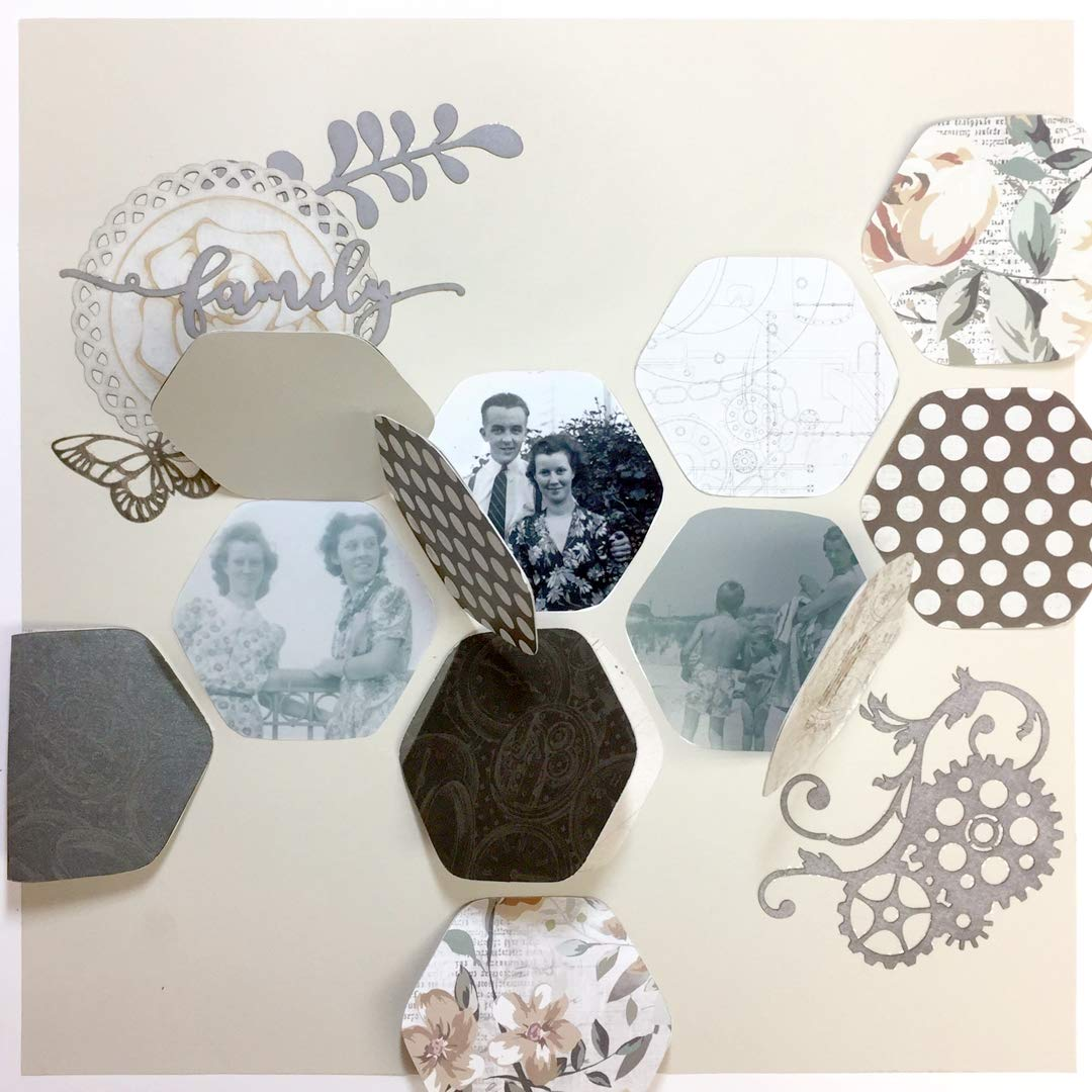 Creative Memories Custom Cutting System Gemstone Patterns