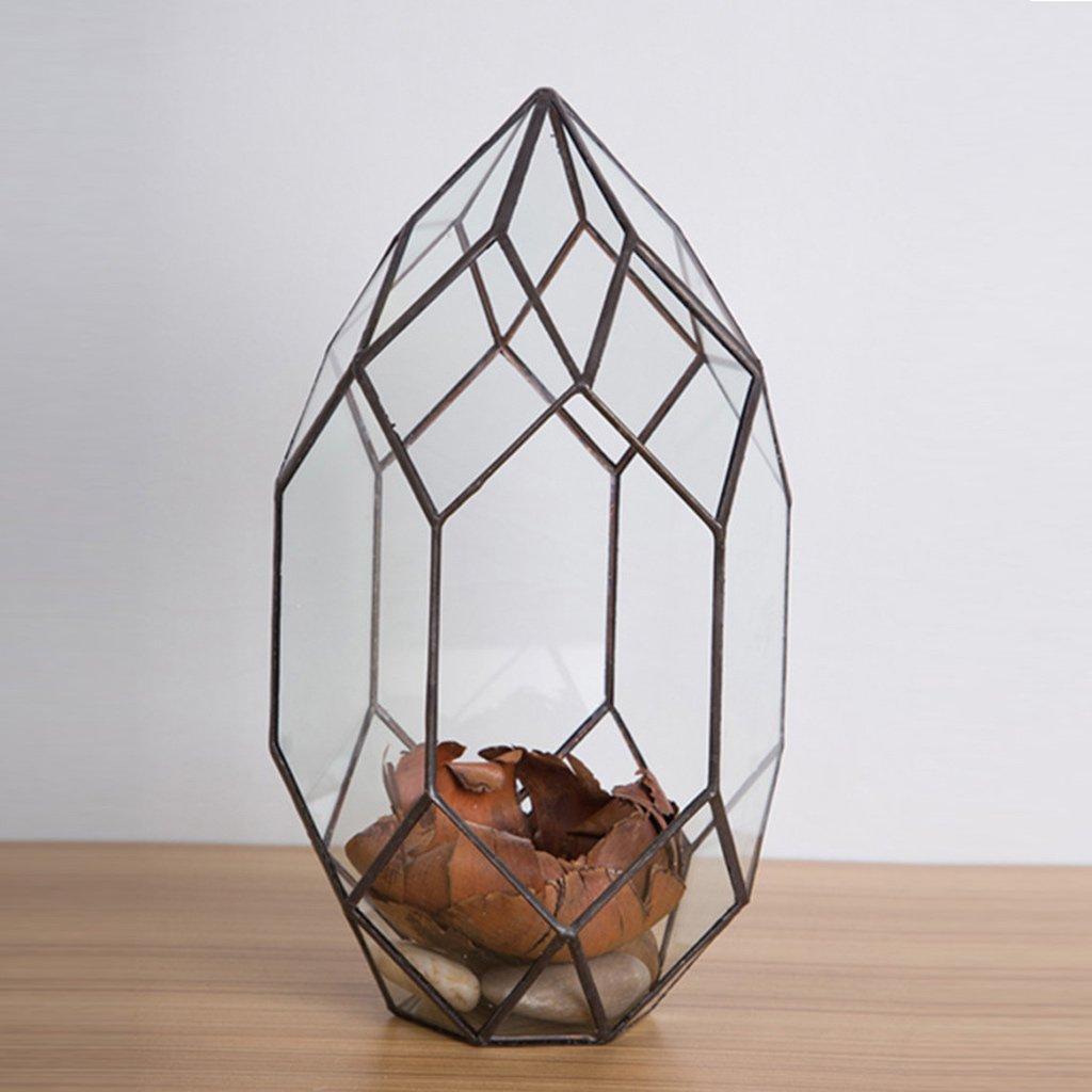 jinxin Glass greenhouse/hanging geometry glass greenhouse/micro landscape greenhouse glass flower