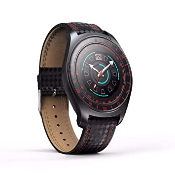 KLAYL Reloj Inteligente Bluetooth Smart Watch V10 con Tarjeta SIM ...