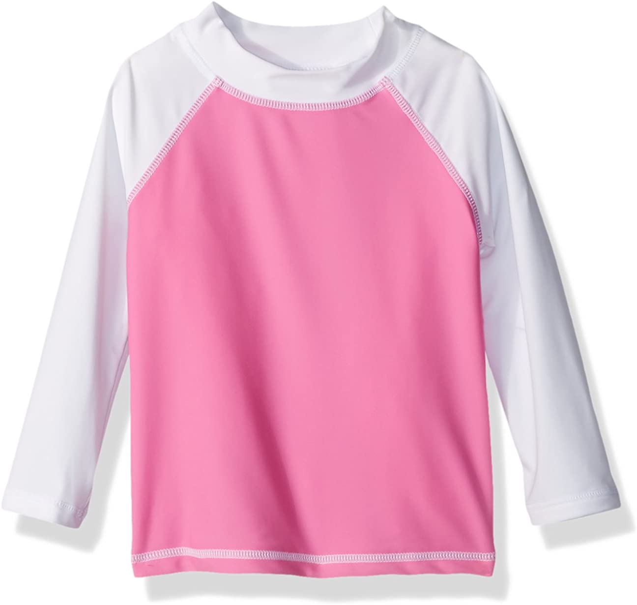 Flap Happy Baby Baby Girls Colorblock Rash Guard