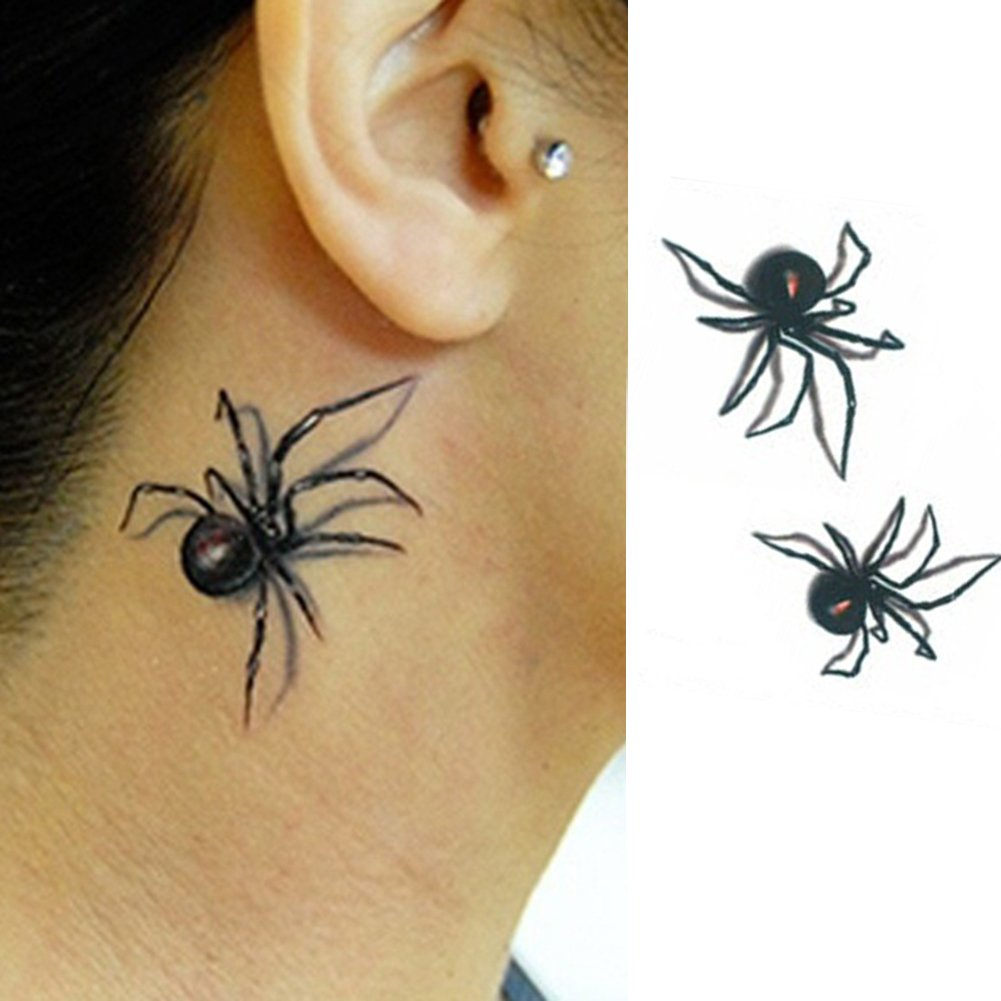 AchidistviQ - Adhesivo Decorativo para Tatuaje Temporal, diseño de ...